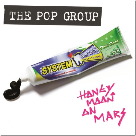 Pop Group - Honeymoon-On-Mars-Cover