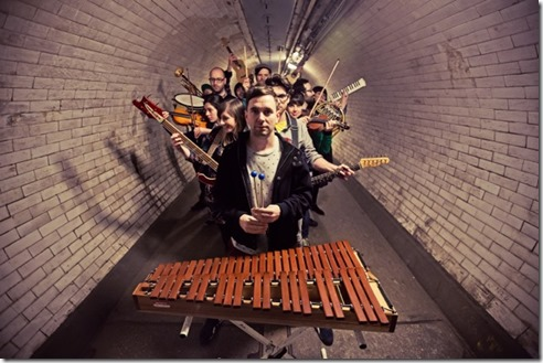 Human Pyramids Press Shot - Tunnel