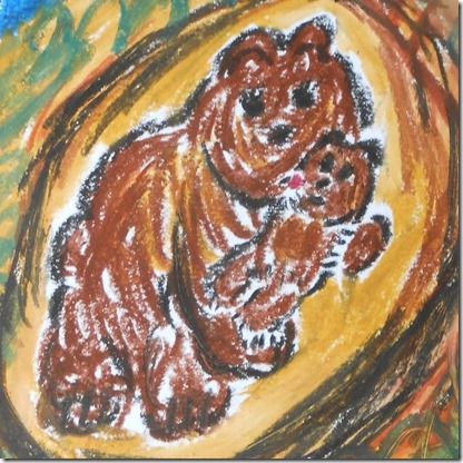Noemie Nours – As a Bear Doth Her Whelps