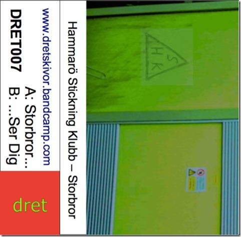 DRET007 tape inlay card