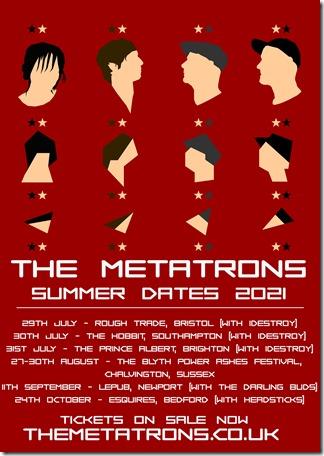 The Metatrons 2021 summer dates